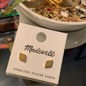 Madewell Diamond Shaped Studs